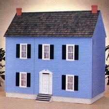 New Concept Dollhouse Kits Front Opening Montpelier Dollhouse