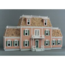 Front Opening Federal Manor Dollhouse