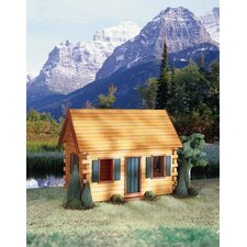 Quickbuild Kits Crockett's Cabin Dollhouse