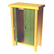<strong>Real Good Toys</strong> Solid Pine Wardrobe Doll Furniture