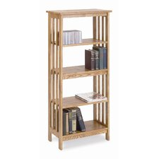 Mission Bookcase in Golden Oak