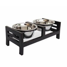 Moretti Double Diner Dog Bowl