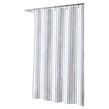 Palmetto Bay Stripe Cotton Shower Curtain