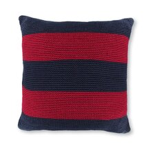 "18"" Crew Striped Knit Decorative Pillow"