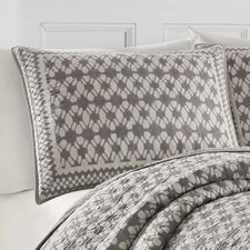 Selwood Cotton Quilt in Grey