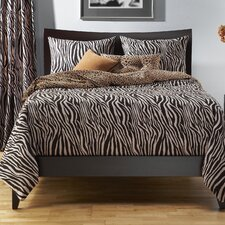 Zebra Zen Duvet Set Collection