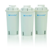 <strong>Brondell</strong> H2O+ Replacement Pitcher Filter (Set of 3)