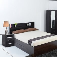 Urban 4 Piece Fast Move in Bedroom Set