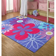 Girls Fields Bloom Rug