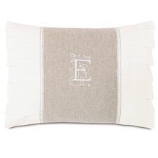 <strong>Eastern Accents</strong> Edith Greer Insert Monogram Pillow
