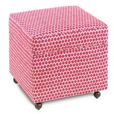 Alexis Ginny Sorbet Storage Box Ottoman