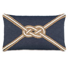Ryder Strauss Denim Knot Accent Pillow