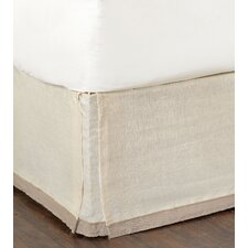 Silas Breeze Pearl Bed Skirt