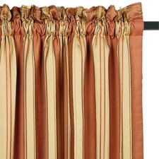 Arosa Silk Rod Pocket Curtain Single Panel