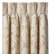 Evora Cotton Rod Pocket Curtain Single Panel