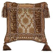 Foscari Venezia Collage Pillow with Tassels
