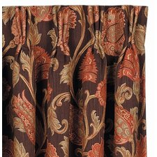 <strong>Eastern Accents</strong> Hayworth Cotton Rod Pocket Curtain Single Panel