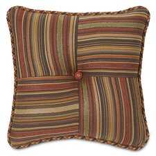 Hayworth Marquette Toffee Tufted Pillow