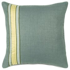 Jardena Marny Teal Euro Sham Left Bed Pillow