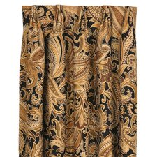 Langdon Cotton Rod Pocket Curtain Single Panel