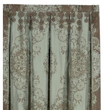 Marbella Lt Cotton Rod Pocket Curtain Single Panel