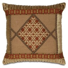 <strong>Eastern Accents</strong> Toulon Ravello Spice Diamond Collage Pillow