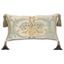 <strong>Eastern Accents</strong> Winslet Hand-Painted Pillow with Tassels