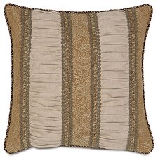 <strong>Eastern Accents</strong> Aston Polyester Filly Ruched Inserts Decorative Pillow