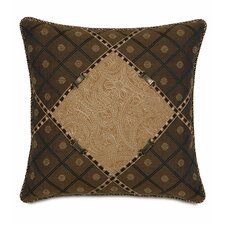 <strong>Eastern Accents</strong> Aston Polyester Leinster Diamond Decorative Pillow