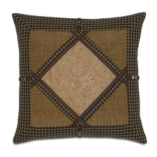 <strong>Eastern Accents</strong> Aston Polyester Leinster Diamond Collage Decorative Pillow