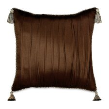 Bellezza Polyester Shantung Decorative Pillow with Tassels