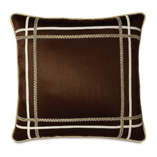 <strong>Eastern Accents</strong> Bellezza Polyester Shantung Decorative Pillow with Small Welt