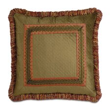 Botham Polyester Reuss Border Collage Decorative Pillow
