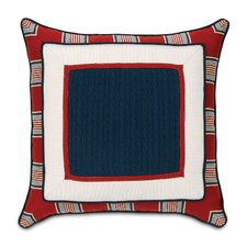 Carter Polyester Preppy Harbor Border Collage Decorative Pillow