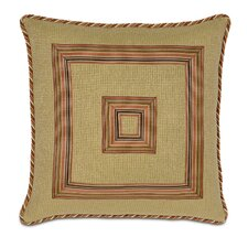 Kiawah Palmetto Citrus with Border Decorative Pillow
