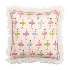 Matilda Polyester Decorative Pillow with Ruffle