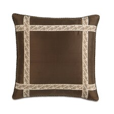 Michon Polyester Serico Decorative Pillow with Border