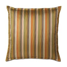 Melange Polyester Decorative Pillow with Mini Flange