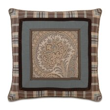 Powell Polyester Border Collage Decorative Pillow