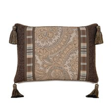 Powell Polyester Insert Decorative Pillow with Cord and Tassels