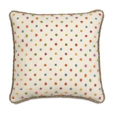 Portia Polyester Rue Garden Decorative Pillow with Cord