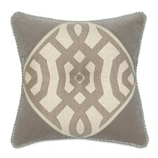 Rayland Polyester Diamond Tufted Decorative Pillow