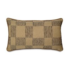 Shamwari Polyester Sable Decorative Pillow with Small Welt