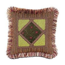 Tahiti Polyester Nardoa Diamond Collage Decorative Pillow