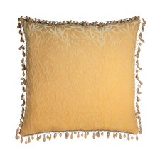 <strong>Eastern Accents</strong> Antigua Polyester Augustine Decorative Pillow with Beaded Trim