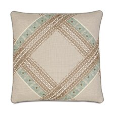 <strong>Eastern Accents</strong> Avila Polyester Vivo Bisque Diamond Decorative Pillow