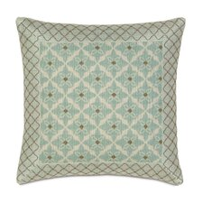 <strong>Eastern Accents</strong> Avila Polyester Arlo Ice Decorative Pillow with Mitered Border