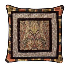 Broderick Polyester Border Collage Decorative Pillow