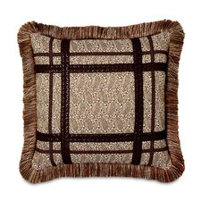 Broderick Polyester Candace Decorative Pillow with Brush Fringe