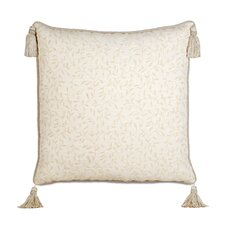 <strong>Eastern Accents</strong> Brookfield Polyester Hayes Blossom Decorative Pillow with Cord and Tassels